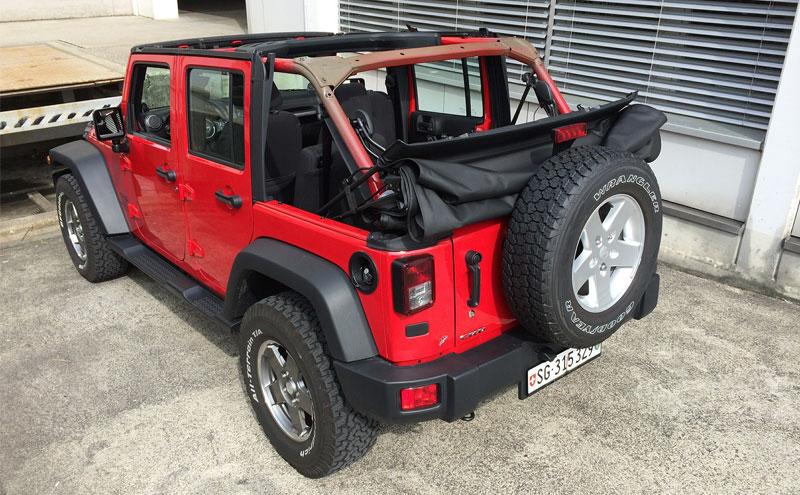 Jeep Wrangler Soft Top Vs Hard Top Pros And Cons Survival Tech Shop