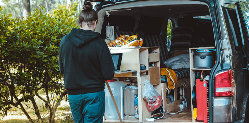 Most People Spend On Average 1 000 To 2 Per Month Gas Food And Other Living Expenses For Their Total Van Life Cost